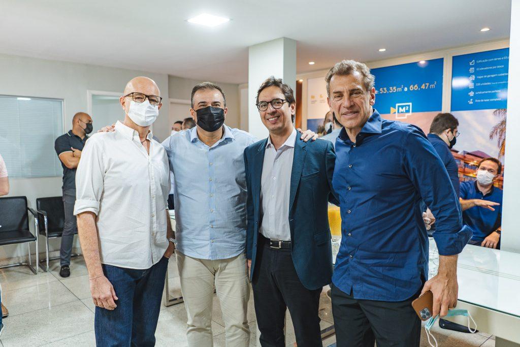 Demetrio Jereissati, Ricardo Bezerra, Yasser Holanda E Roberto Kepler (2)