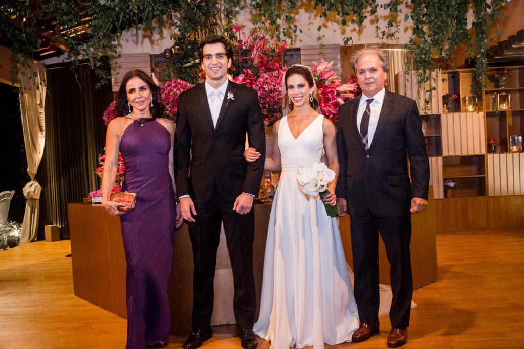 Denise Rolim, Raphael Nogueira, Manuela Rolim E Ricardo Rolim