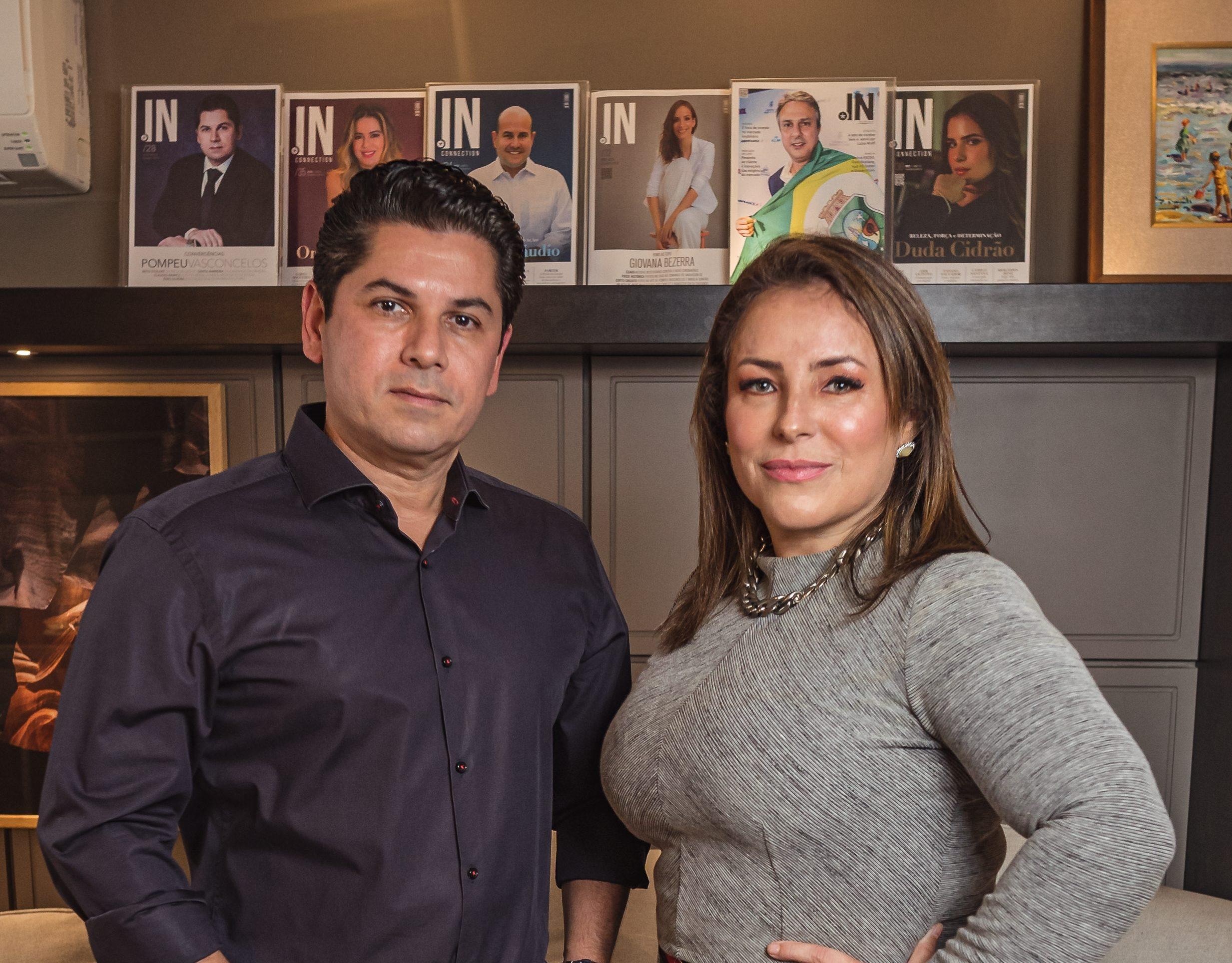 Conheça a IN Express Comunicação, collab de consultoria e relacionamento de Pompeu Vasconcelos e Eveline Frota