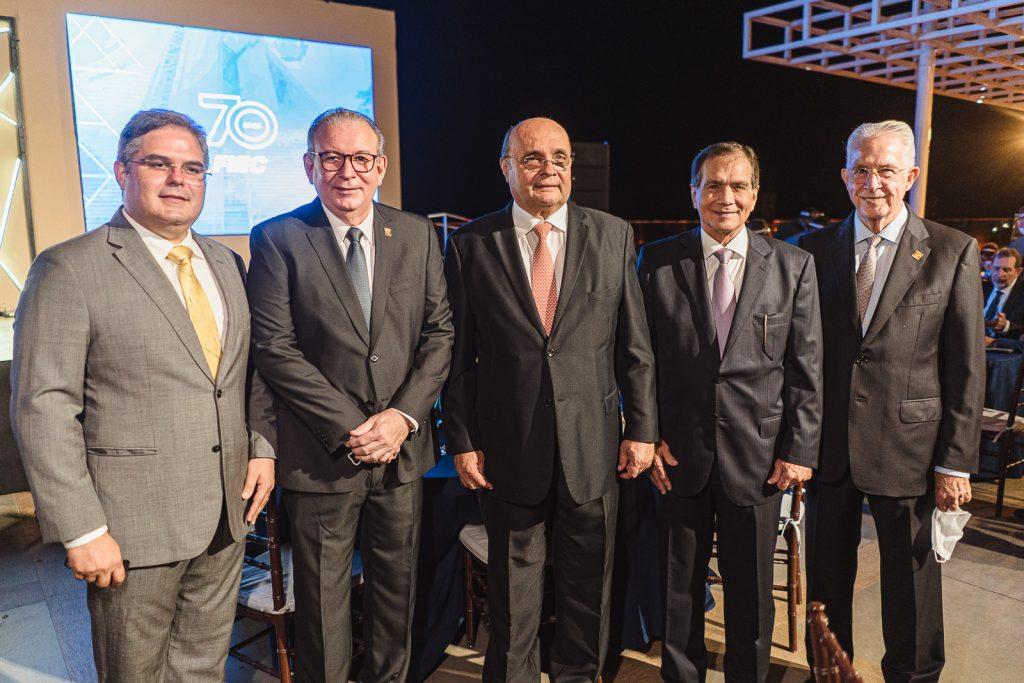 Edson Queiroz, Ricardo Cavalcante, Fernando Cirino, Beto Studart E Carlos Prado