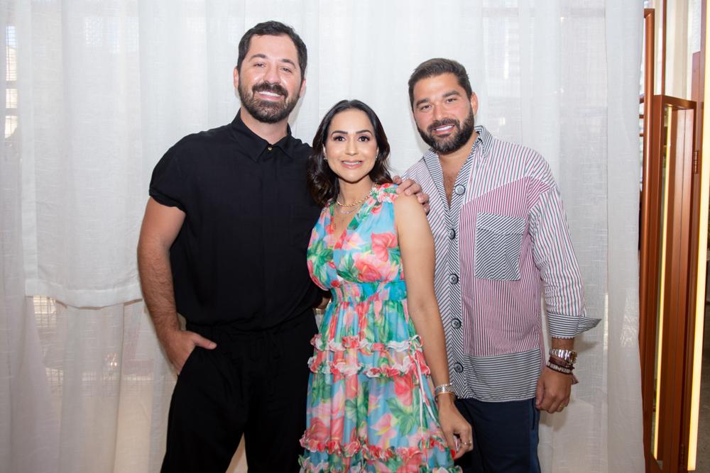 Eduardo Amarante, Katia Targino E Marco Abreu