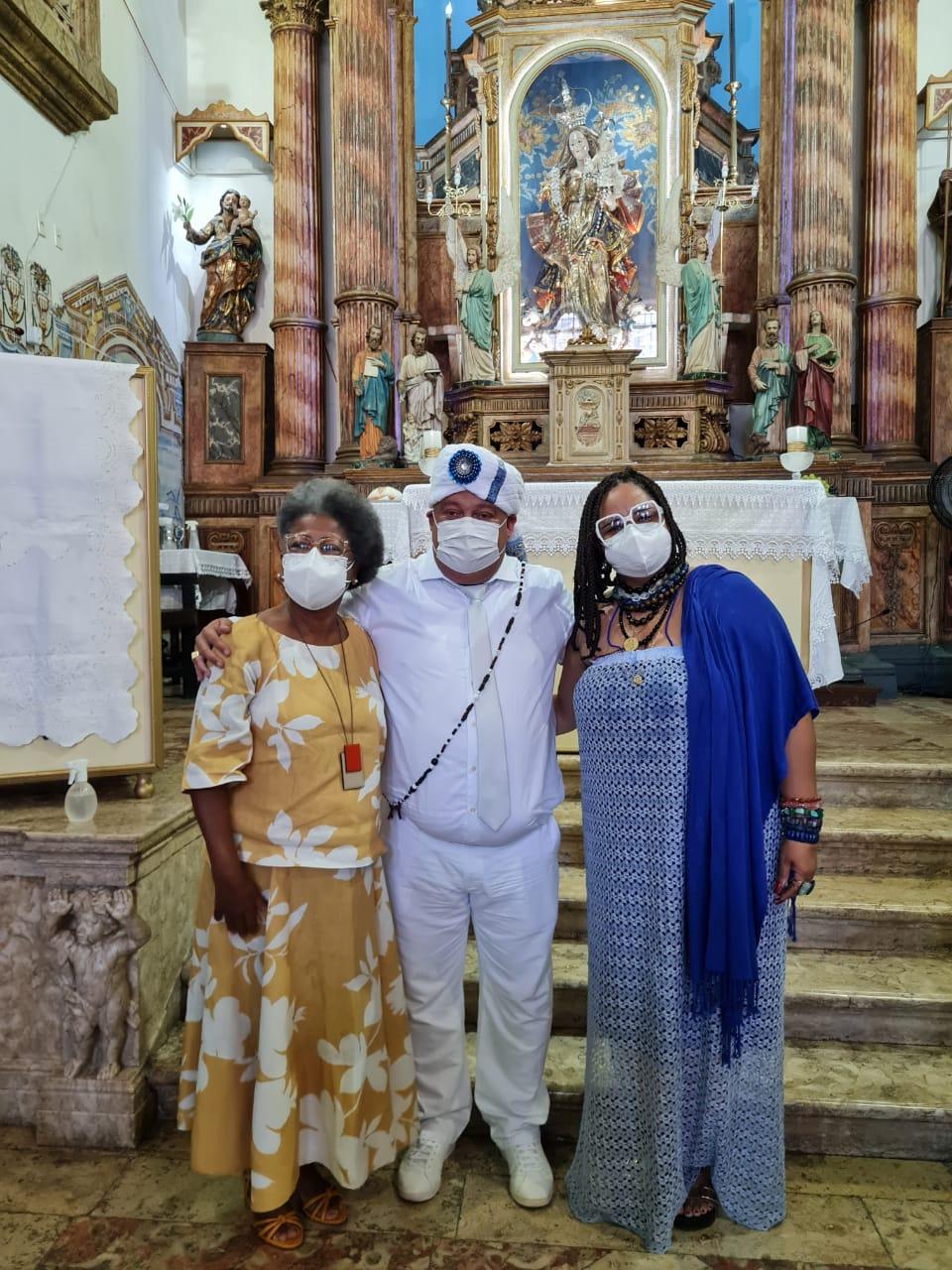 Secretária Estadual de Cultura da Bahia, Arany Santana, prestigia posse da Associação Afoxe Filhos de Gandhy