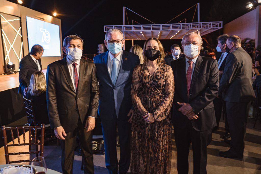 Elcio Batista, Ricardo Cavalcante, Fernanda Pacobahyba Candido Alburquerque