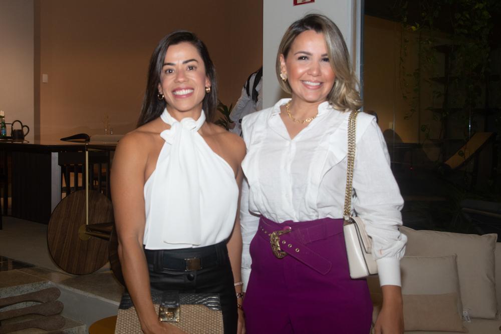 Emmanuelle Moreira E Germana Rabello