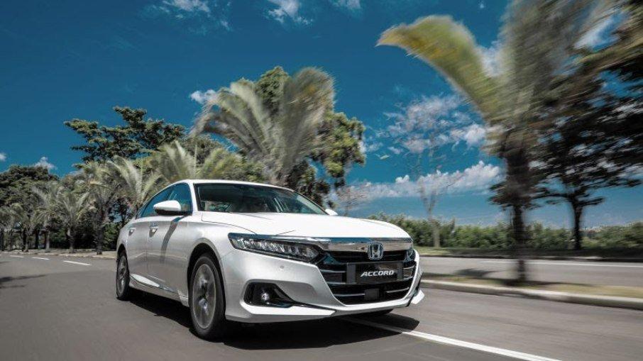 Em pré-venda na Novaluz, primeiro Accord híbrido é destinado ao presidente do Grupo Carmais