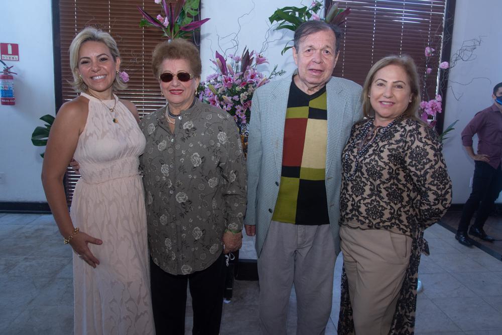 Erika Queiroz, Catarina Marino, Flávio Torres E Dalvaliane Lucena