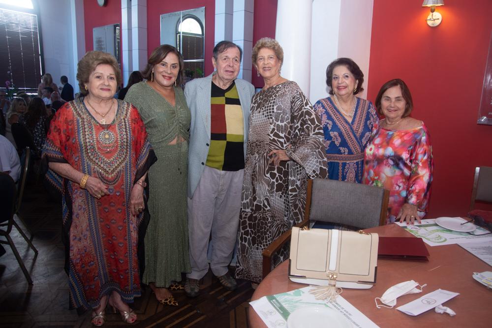 Fernanda Aguiar, Karina Sampaio, Flávio Torres, Vera Tigre E Mirian Almada