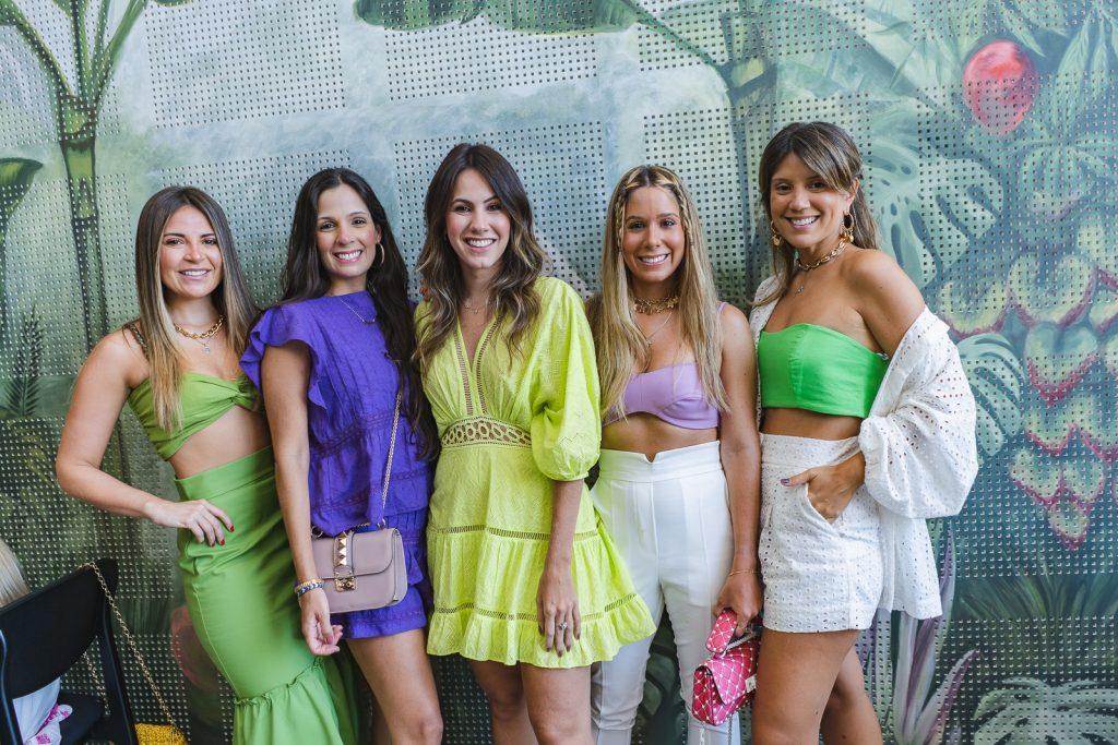 Fernanda Borges, Rafaela Arruda, Nathalia Brasil, Grazi Maia E Raquel Xavier