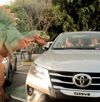 Estacionamento do Iguatemi Fortaleza recebe o Jurassic Safari Experience em novembro. Vem saber!