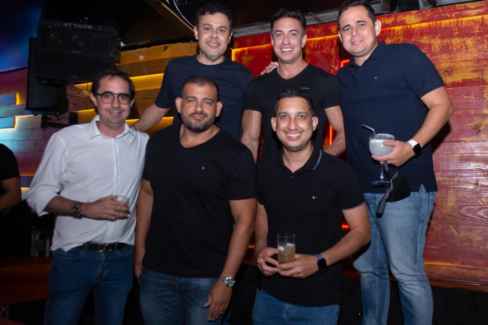 Gustavo Cruz, Flavio Ribeiro, Guilherme Nobrega, Pedro De Castro, Renato Lourenço E Lauro Sobreira (2)