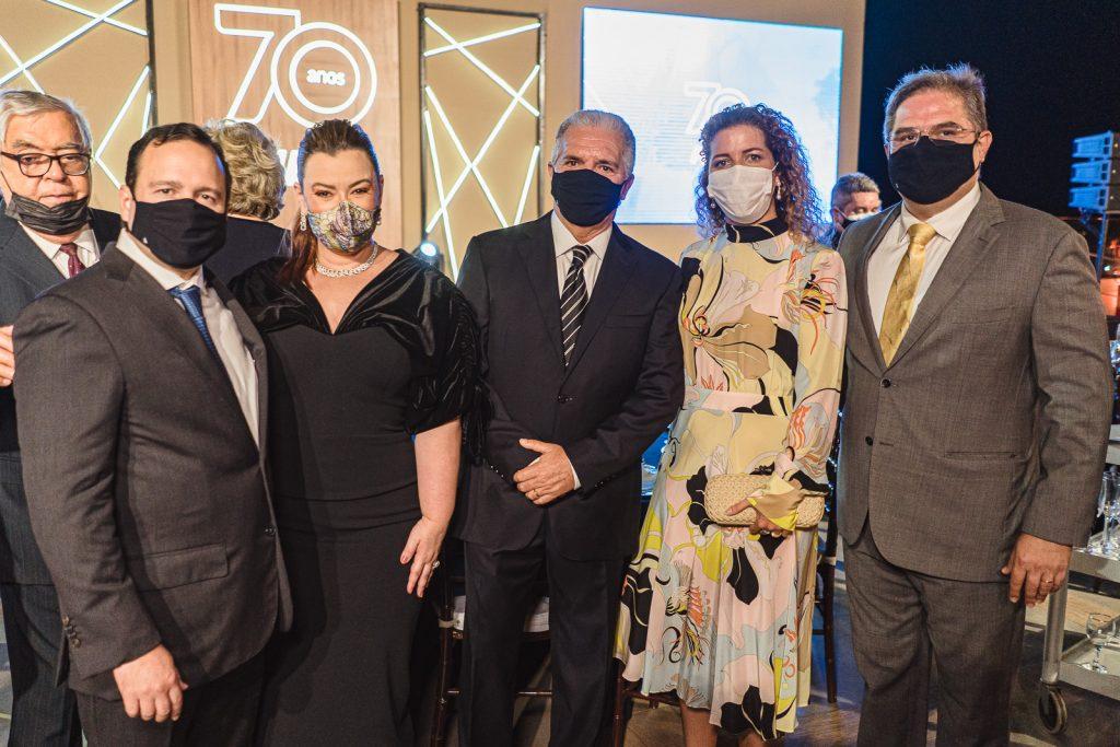 Igor Queiroz Barroso, Aline Felix, Pio Rodrigues, Ticiana E Edson Queiroz