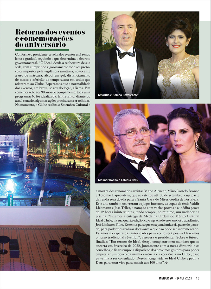 Insider #70 Ideal Clube13