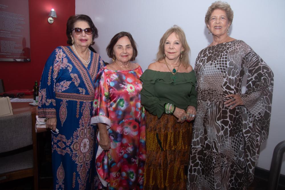 Isabel Arruda, Mirian Almada, Moema Guilhon E Vera Tigre