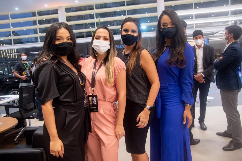 Isabelly Oliveira, Beatriz Bezerra, Marina Vieira E Alana Araújo