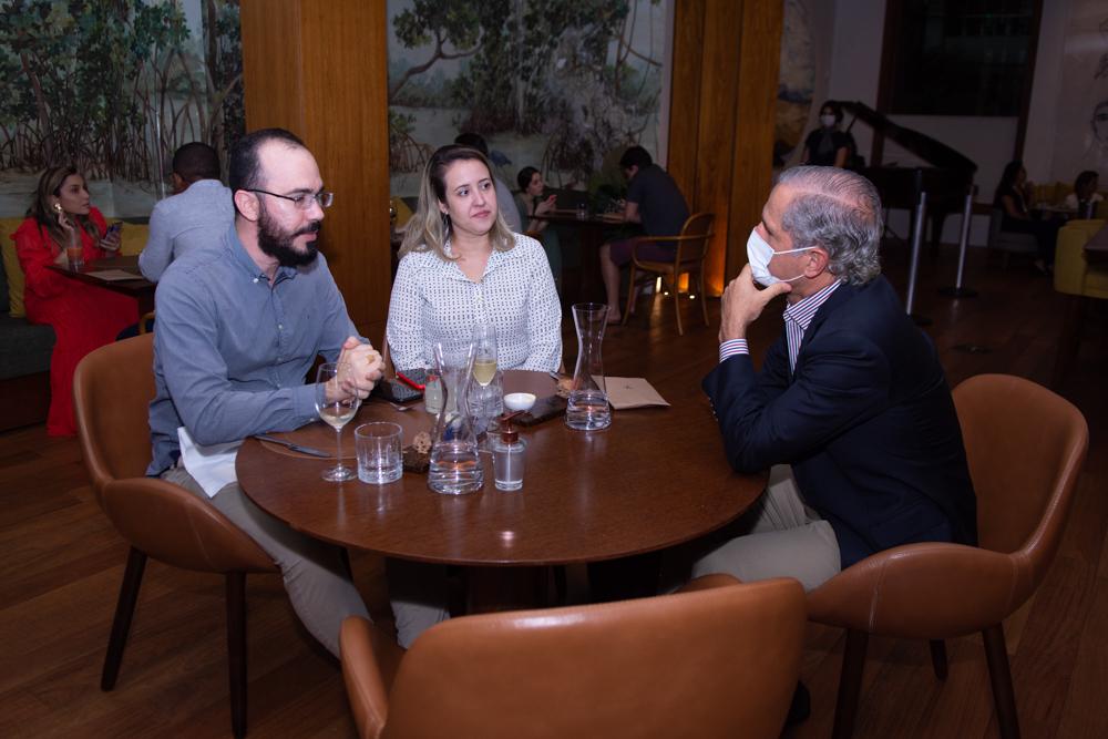 Italo Borges, Izakeline Ribeiro E André Bichucher