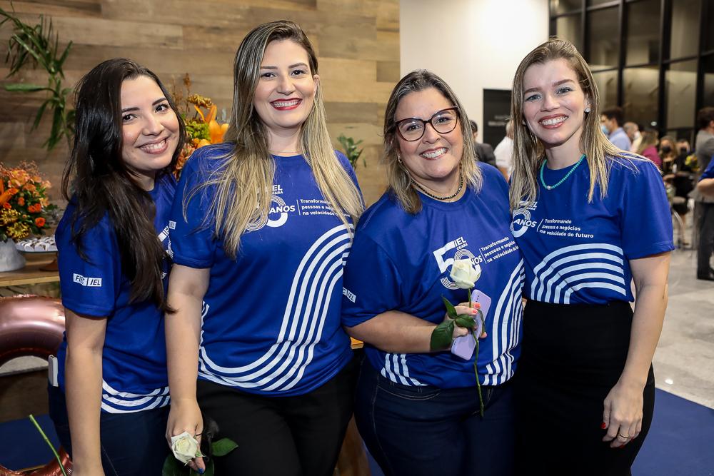 Ivina Teixeira, Renata Osterno, Cris Moreira E Ana Luiza Frota