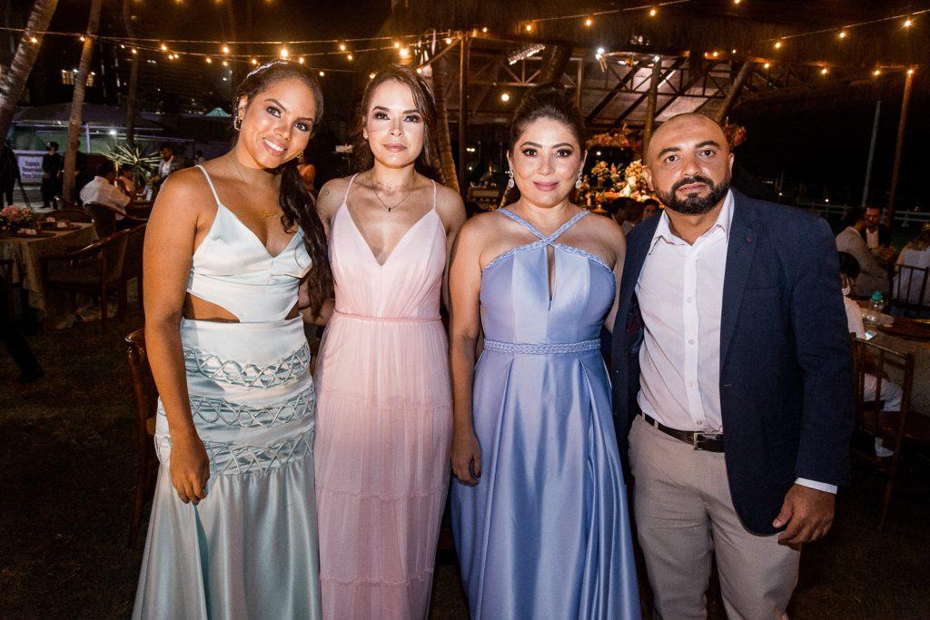 Jessica Silva, Conceicao Pereira, Samara Godeira E Clovis Guimaraess
