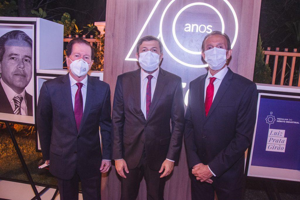 Joao Cordeiro, Elcio Batista E Gerardo Fontes