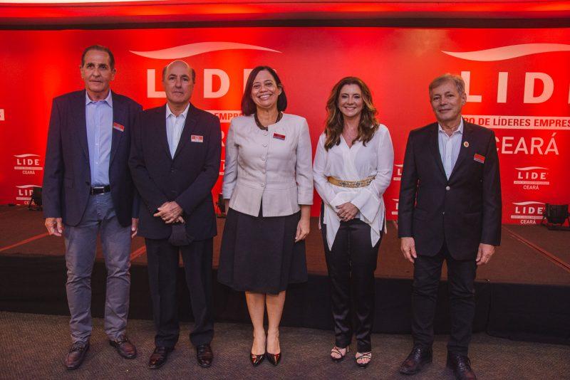 Joao Fiuza, Silvio Frota, Milene Pereira, Emilia Buarque E Otacilio Valente