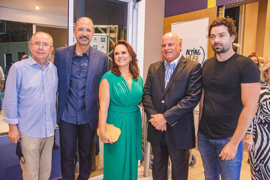 Joao Melo, Regis Medeiros, Denise Cavalcante, Luciano Cavalcante E Rodrigo Laureano