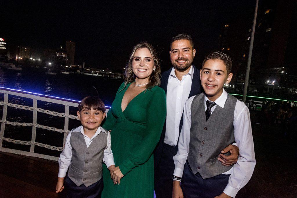 Joao Rafael, Gisele, Joao Neto E Rafael Severiano