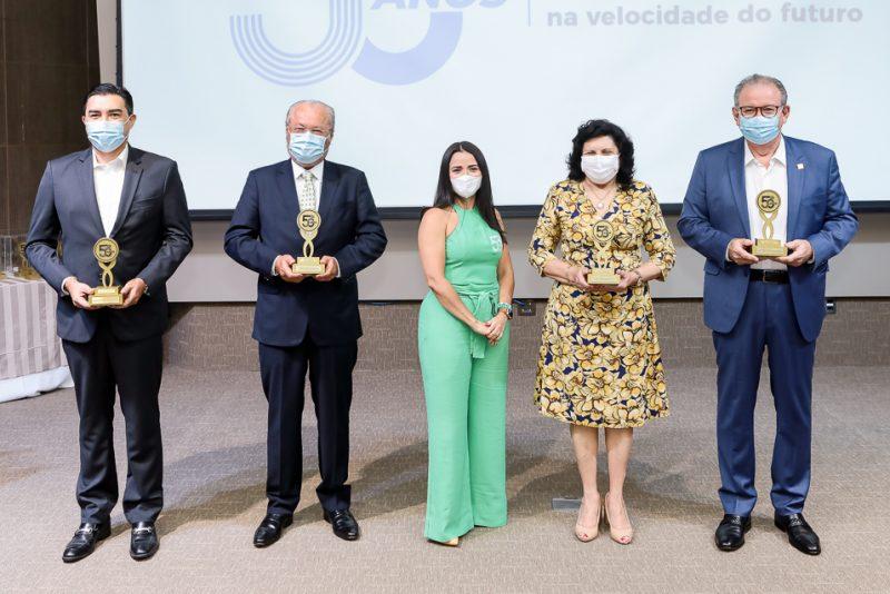 Junior Castro, Candido Albuqueruque, Dana Nunes, Nailde Pinheiro E Ricardo Cavalcante
