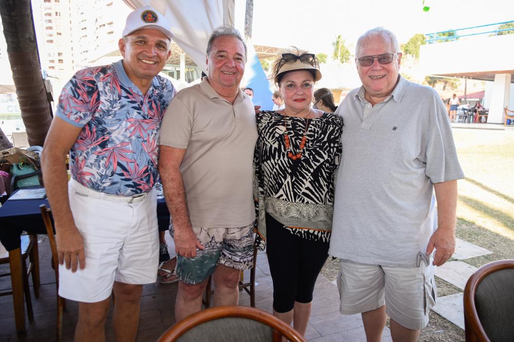 Licínio Correa, Chiquinho Aragão, Alessandra Aragão E Rainer Kampfe