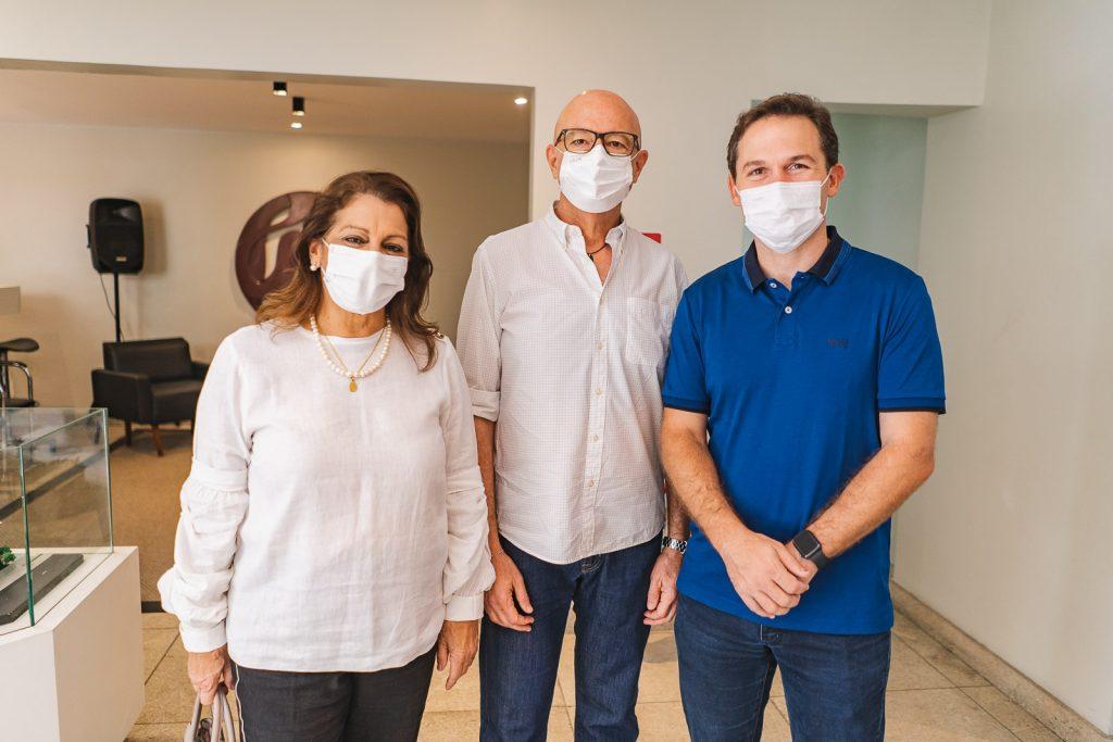 Lidia Vieira, Demetrio Jereissati E Fabio Albuquerque
