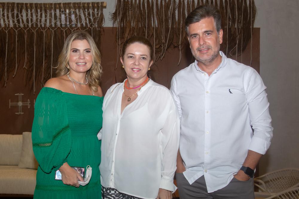 Liliane Meira, Inês Cavalcante E Alexandre Pereira