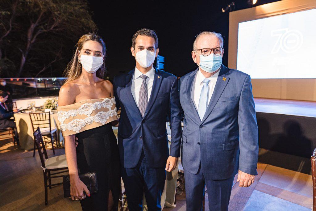Livia Aguiar, Domingo Neto E Ricardo Cavalcante