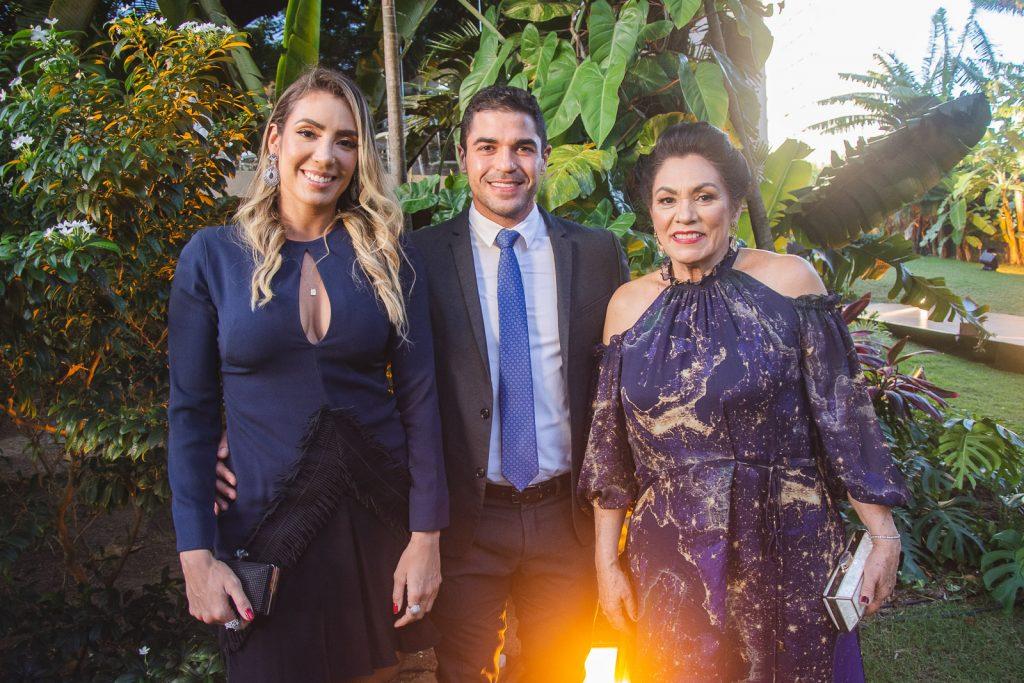 Luana Vidal, Vitor Siqueira E Veronica Vidal