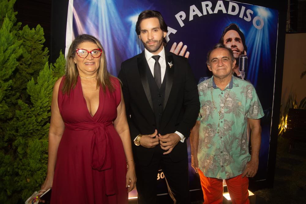 Lúcia Ribeiro, Phillipe Dantas E Franklei Tavares