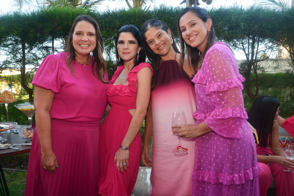 Luciana Colares, Marília Quintão, Daniele Fairbanks E Luciana Frota (2)