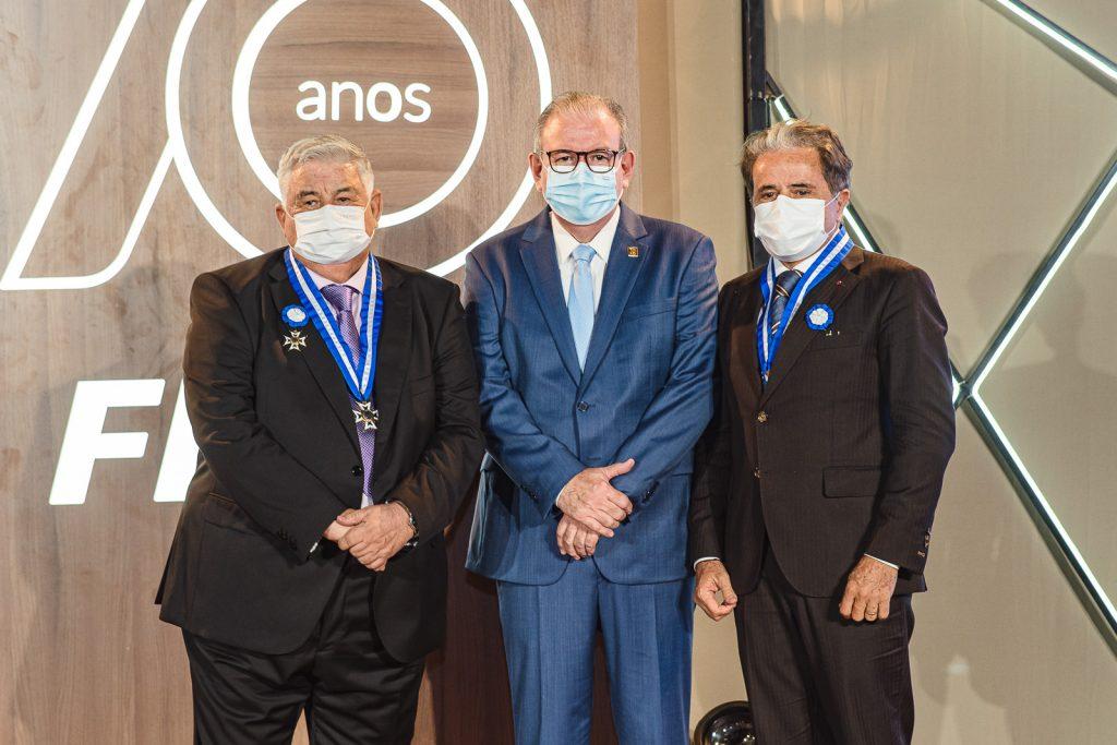 Luiz Girão, Ricardo Cavalcante, Ivan Bezerra