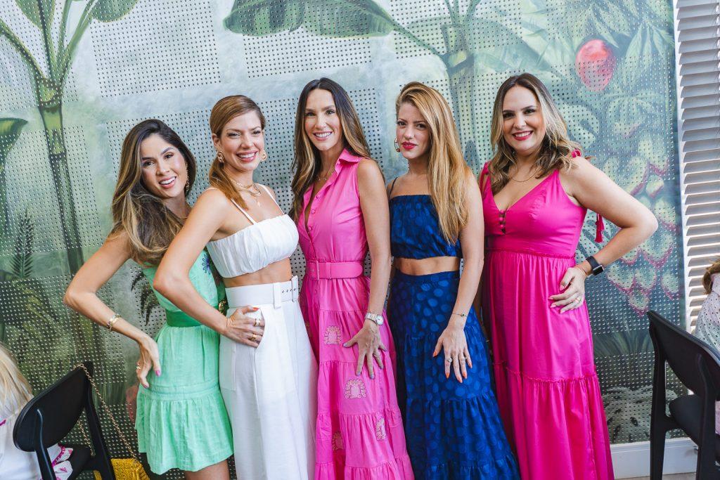 Manoela Castro, Anna Macedo, Marcela Turbay, Raquel Cavalcante E Anna Gladys