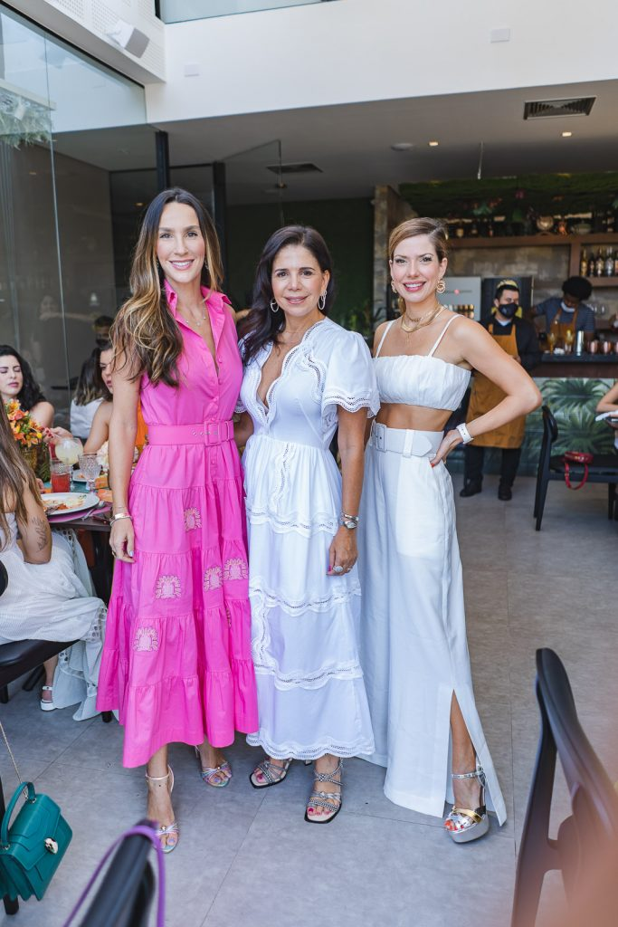 Marcela Turbay, Maria Lucia Negrao E Anna Macedo (2)