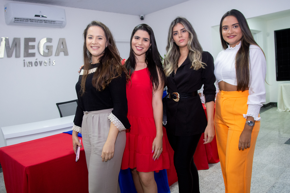Marcia Lins, Dayane Vasconcelos, Thamires Galeno, Rayane Galdino