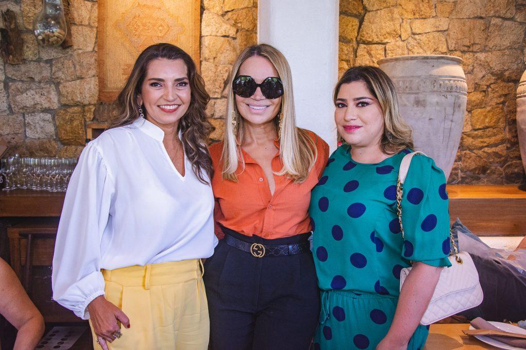 Marcia Travessoni, Solange Almeida E Manu Romcy