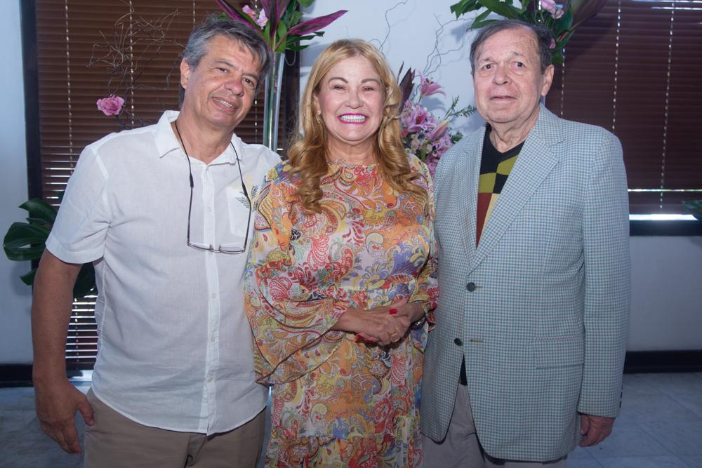 Marco Sales, Stela Frota Salles E Flávio Torres