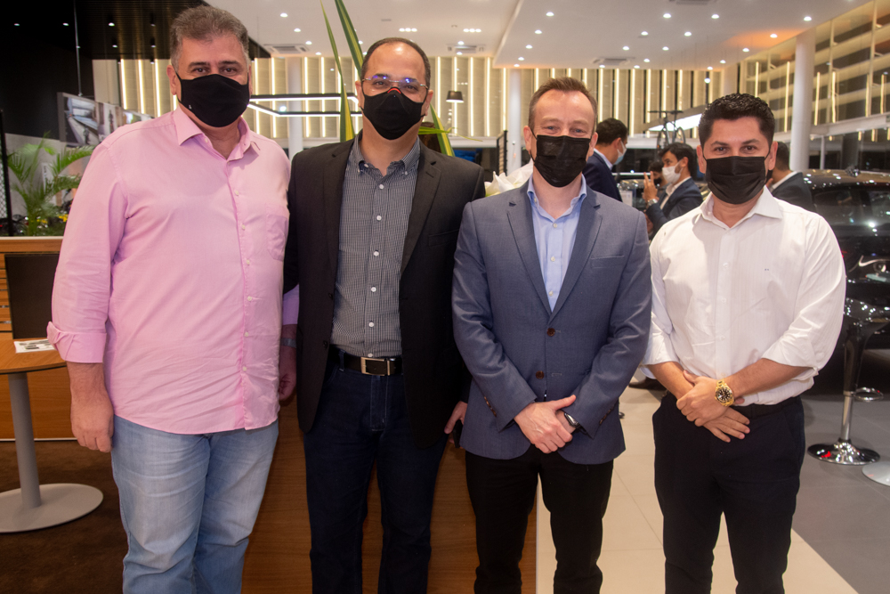 Marcos Gomide, Aurivalter Júnior, Aksel Krieger E Pompeu Vasconcelos