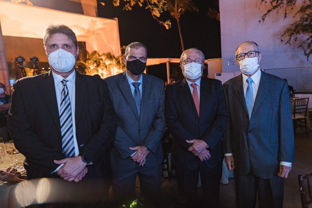 Marcos Oliveira, Alexandre Sales, Candido Albuquerque E Lucio Alcantara