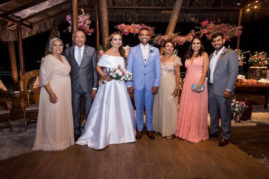 Maria Aparecida Alves, Luiz Adailton Alves, Ticiana Ribeiro, Joao Luiz Ferreira, Aldacir Alves, Ana Maria Alves E Paulo Chaves