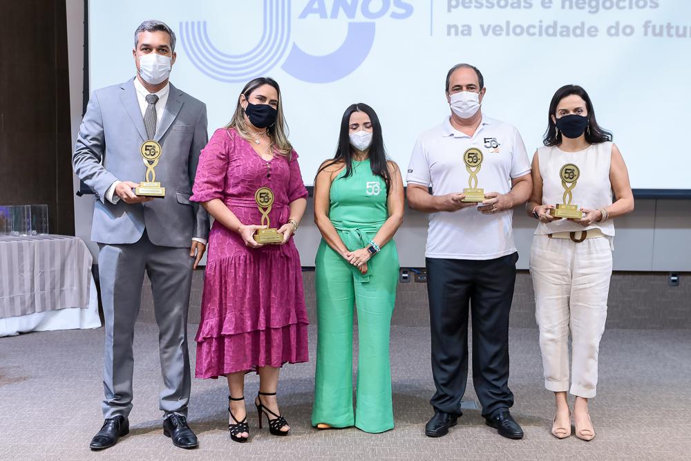 Mark Pereira, Roseane Pimentel, Dana Nunes, Paulo Andre Holanda E Veridiana Soares