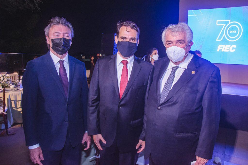Mauricio Filizola, Salmito Filho E Roberto Macedo