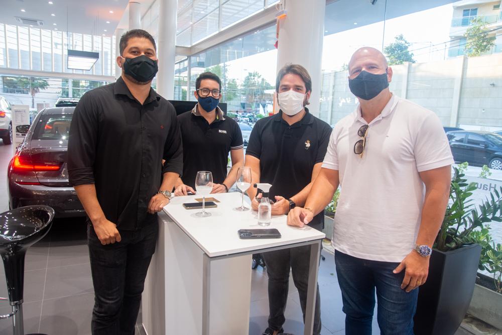 Mauro Diniz, Manoel Wagner, Felipe Amaral E Carlos Alencar