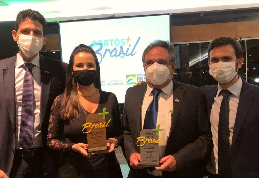 Porto de Fortaleza recebe dois prêmios em evento de abrangência nacional