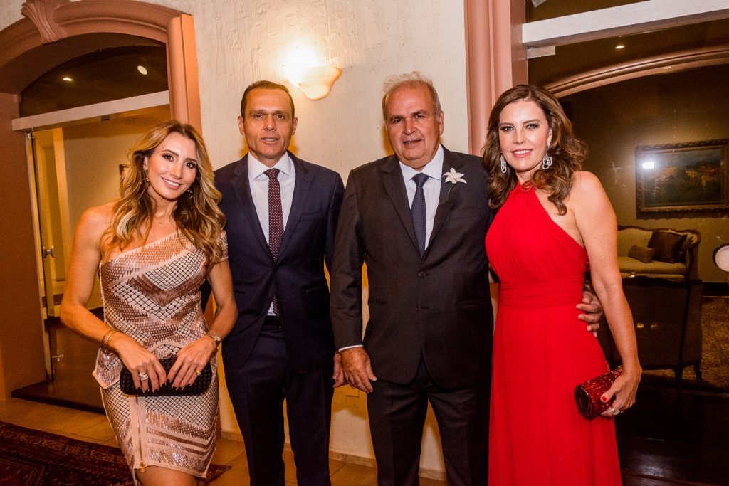 Melaine Fernandes, Eduardo Diogo, Aroldo Nogueira E Rosely Nogueira