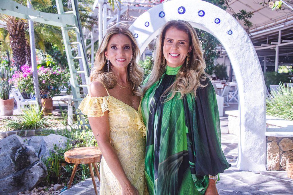 Michelle Aragao E Alexandra Pinto