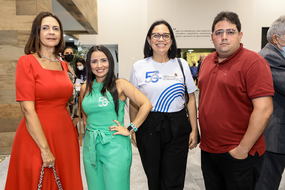 Mirian Pereira, Dana Nunes, Milene Pereira E Frederico Yan
