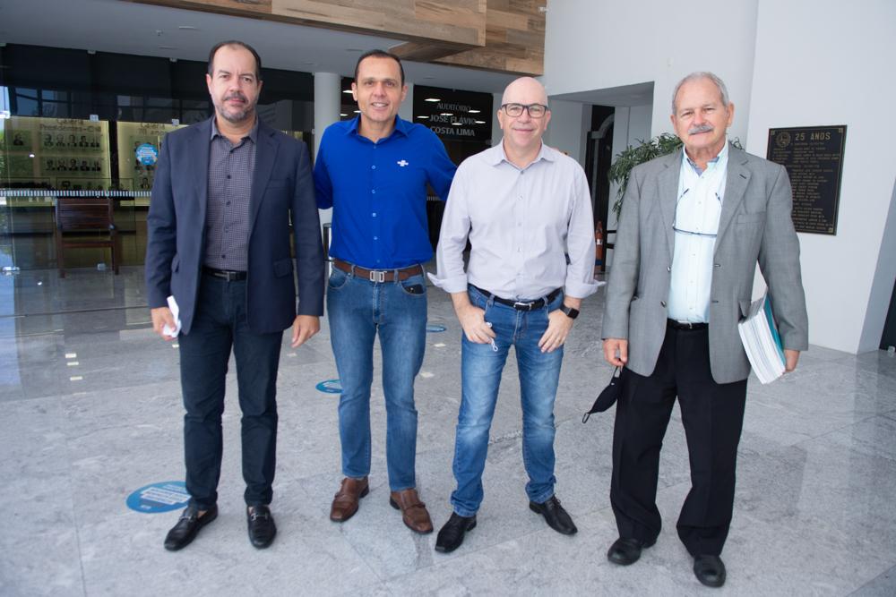 Moises Gomes, Eduardo Diogo, Luciano Pinheiro E José Guilherme